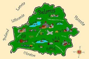 Беларусь старая карта